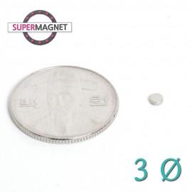 네오디움 강력 원형자석 3mm