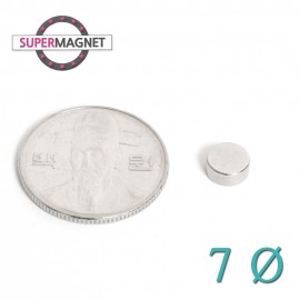 네오디움 강력 원형자석 7mm