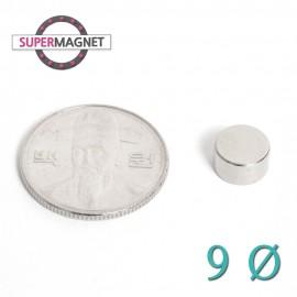 네오디움 강력 원형자석 9mm