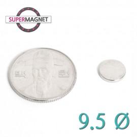 네오디움 강력 원형자석 9.5mm