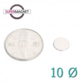 네오디움 강력 원형자석 10mm