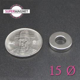 네오디움 강력 링자석 15mm
