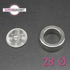 네오디움 강력 링자석 28mm