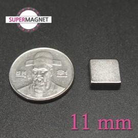 네오디움 강력 사각자석 11mm