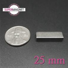 네오디움 강력 사각자석 25mm