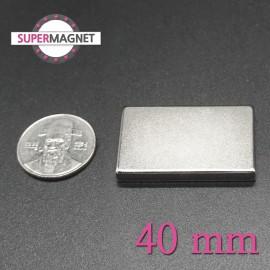 네오디움 강력 사각자석 40mm